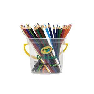 Crayola Deskpack 48 Triangular Coloured Pencils