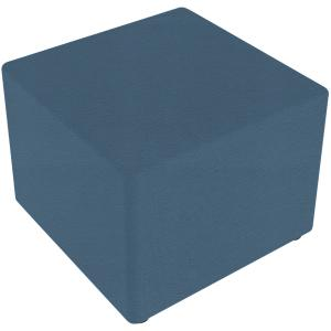 Sebel Little Softie Box Ottoman on Glides 350(h)x450(w)x450(d)mm Studio Encore Vinyl Wedgewood