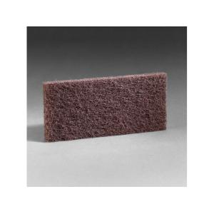 3m 8541 Scrub & Strip Heavy Duty 254X117mm Brown