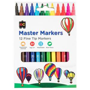 Ec Master Markers Pack Of 12
