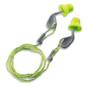 Uvex X-Fit Xa-CD Lime Foam Corded Ear Plug Box 50 Pairs