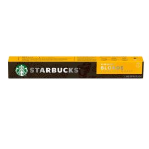 Starbucks Coffee Capsules Blonde Espresso Roast Box 10