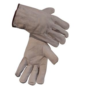 Safechoice Gloves Cow Grain Palm Split Leather Rigger