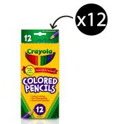 Crayola Coloured Pencils Pack 12
