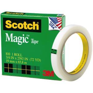 Scotch Magic 810 Tape 19mm x 66m