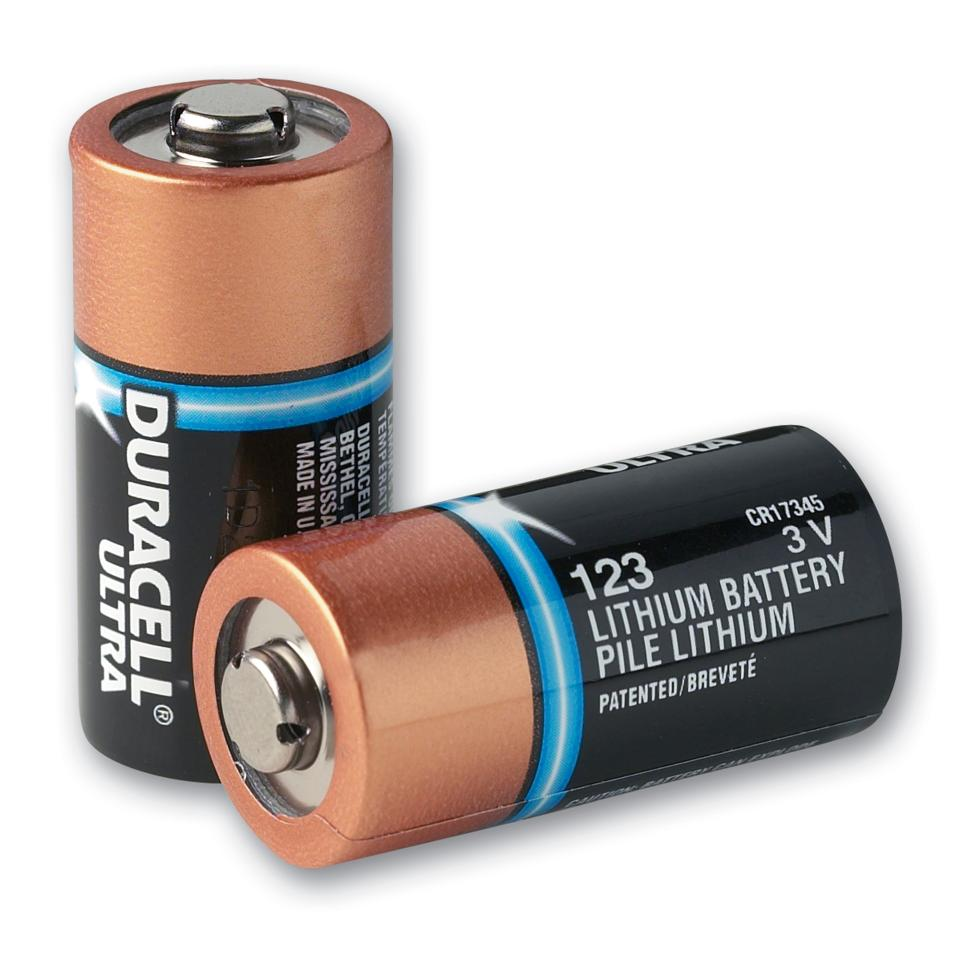 Integrity Health & Safety Indigenous Batteries Lithium 123a For ZOLL AED Plus Pkt10