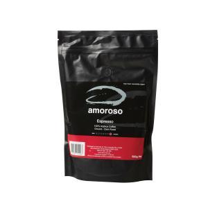 Amoroso Espresso Dark Roast Ground Coffee 500g