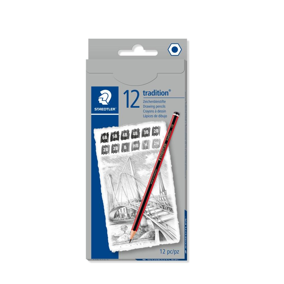 Staedtler Traditional Pencil 110 9 Degrees Set Of 12