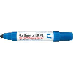 Artline 5109A Big Nib Whiteboard Marker Chisel Tip 10.0mm Blue