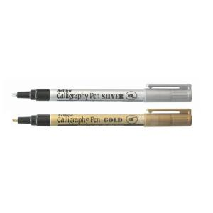 Artline 993 Calligraphy Pen Gold And Silver Box 12