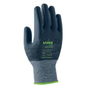 Uvex Hx60544 C300 Gloves Foam Cut 3 Hpe Palm Coated Anthracite Size 8 Pair