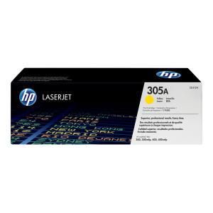 HP LaserJet 305A Yellow Toner Cartridge - CE412A