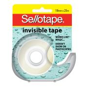 Sellotape Invisible Tape with Dispenser - 18mm x 25m