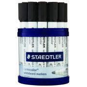 Staedtler Lumocolor Whiteboard Markers Cup 19 Bullet Black