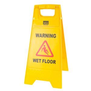 Cleera Safety Sign Wet Floor Yellow
