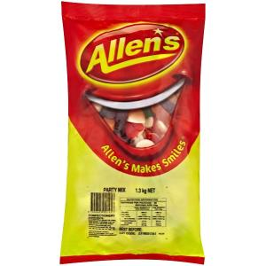 Allens Party Mix Lollies 1.3kg