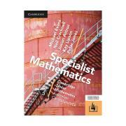 CSM VCE Specialist Maths Units 3 & 4 Print Bundle Textbook & Hotmaths. Authors Evans et al
