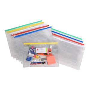 Marbig Document Cases Clear A5 Assorted Each