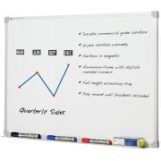 Quartet Whiteboard Penrite Premium 1200l x 900wmm White