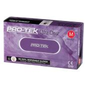 Protek Vinyl Gloves Powder Free Clear Box 100