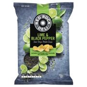 Red Rock Deli Chips Lime & Black Pepper 165g