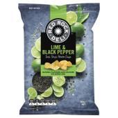Red Rock Deli Chips Lime & Black Pepper 165g