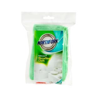 Northfork Microfibre Cloth Bathroom Pkt 3