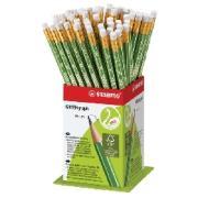 Stabilo Greengraph Hb Pencil With Eraser Box 60