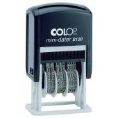 Colop Mini Date Self-Inking Stamp With Black Ink