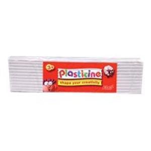 Colorific Plasticine Education Pack 500gm - White Image