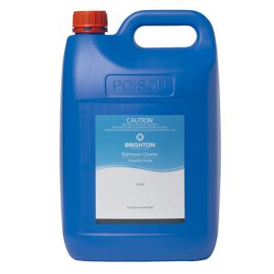 Brighton Professional Bathroom Cleaner Hospital Grade 5 Litre Staples Now Winc