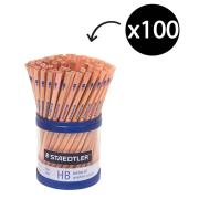 Staedtler Natural Graphite Pencils HB Tub 100