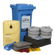 Stratex 120 Litre Wheeled Bin Standard General Purpose Spill Kit