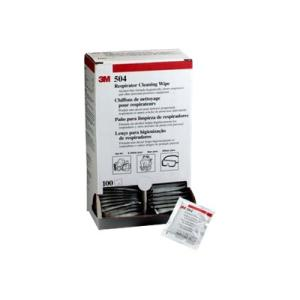 3m 504 Respirator Cleaning Wipes Box 100
