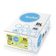 Tudor Barcode Envelopes 140037 DL Window Face Press Seal Box 500