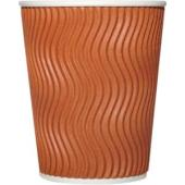 Officemax Corrugated Paper Cup 280ml Brown Carton Of 500