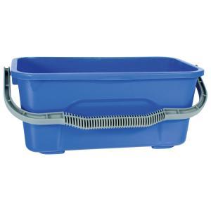 Cleera Window Cleaning Plastic Bucket 12 Litre Blue