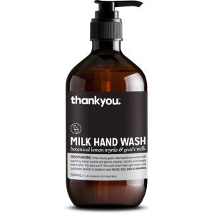 Thank You Milk Hand Wash Botanical Lemon Myrtle & Goat's Milk 500ml