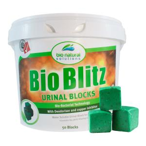 Bio Blitz Urinal Tab Resealable Tub of 50