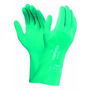 Ansell 58-330 Alphatec Gloves Chemical Medium Duty 32cm Aquadri Pair