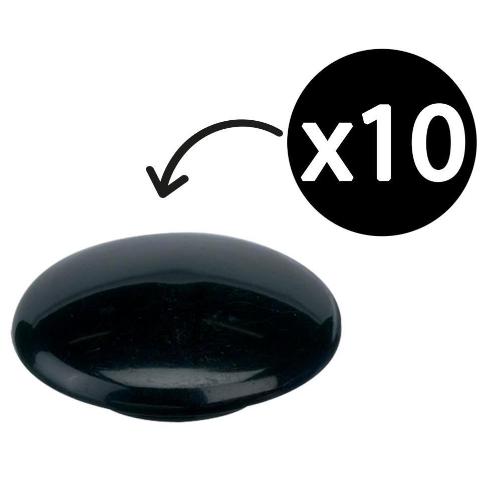 Quartet Magnetic Buttons 20mm Black Pack 10