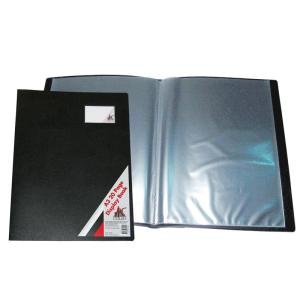 259A3 A3 20 Fixed Pocket Display Book Black