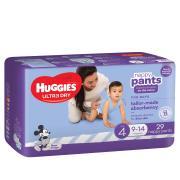 Huggies Ultra Dry Nappy Pants Toddler Boy Pack 29 Carton 4
