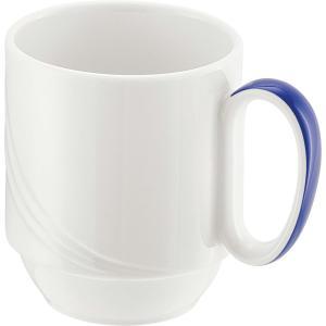 Schonwald Donna Senior Special Mug Stackable 280ml Dark Blue Handle Box 6