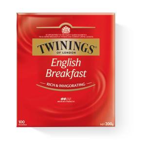 Twinings English Breakfast Tea Bags Pack 100