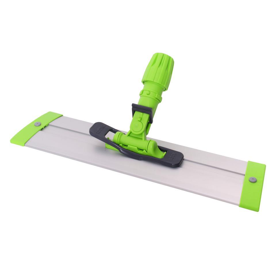 Sabco Long Reach Velcro Flat  Mop  Base 40cm Green