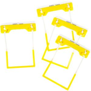 Avery Yellow Tubeclip File Fastener 3 Piece Set - 100 Per Pack