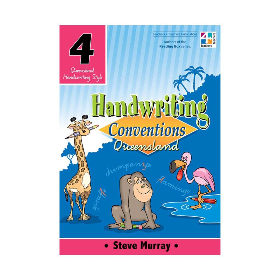 T4T Handwriting Conventions QLD 4