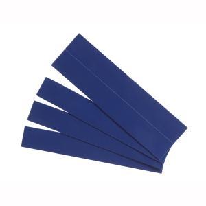 Quartet Strips Magnetic 22 x 150mm Blue Pack 25