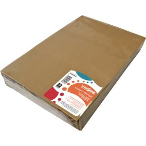 Teter Mek Kraft Paper 70gsm 255x380mm Natural Brown Pkt 500